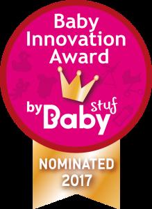 baby innovation award genomineerd logo
