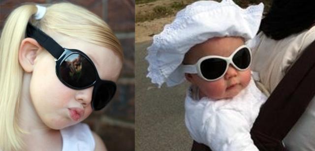babybanz retro zonnebrillen