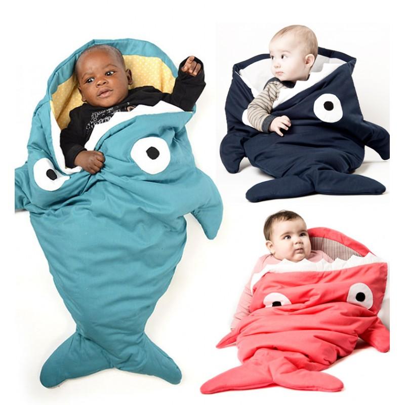 baby bites slaapzak haai