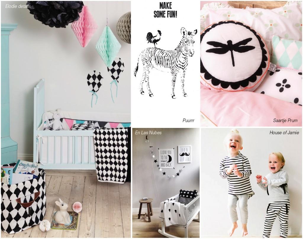 nursery trend black white