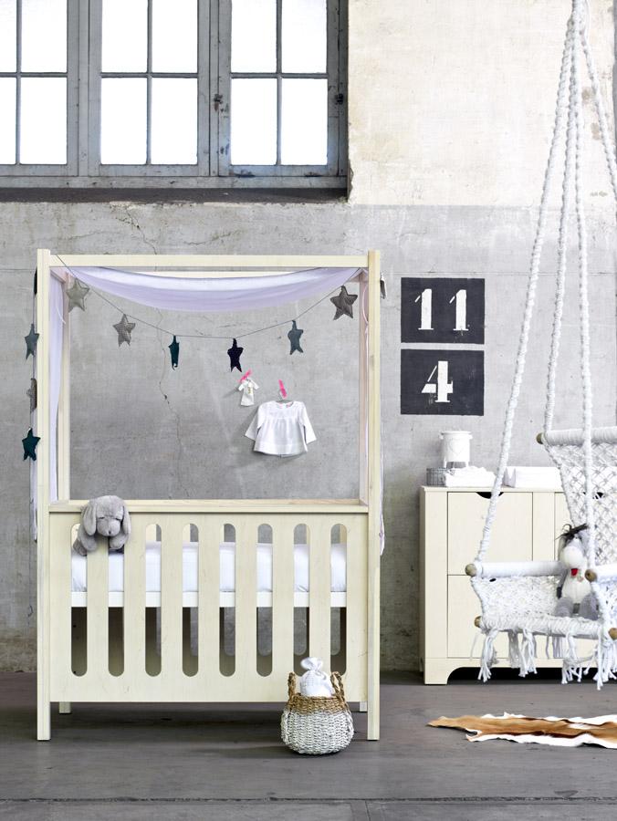 coming kids babykamer Cargo hemelbed babystuf