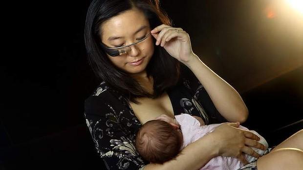 Google glass borstvoeding babytrendwatcher