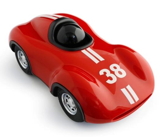 playforever, auto rood, racewagen