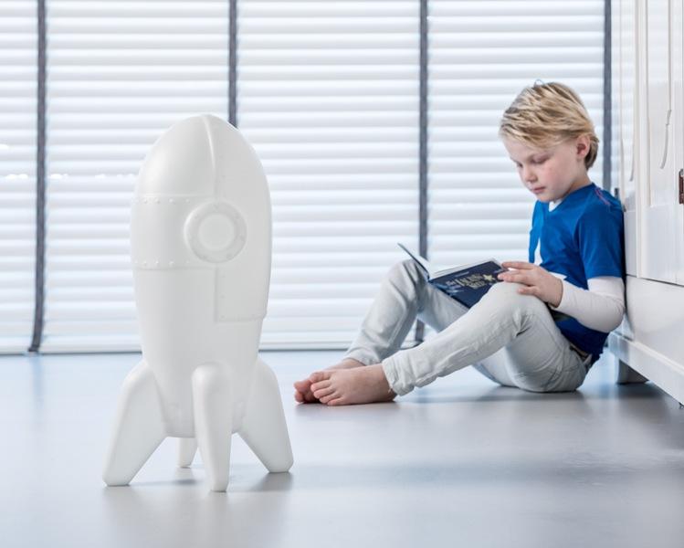 rocket designer lamp kinderkamer