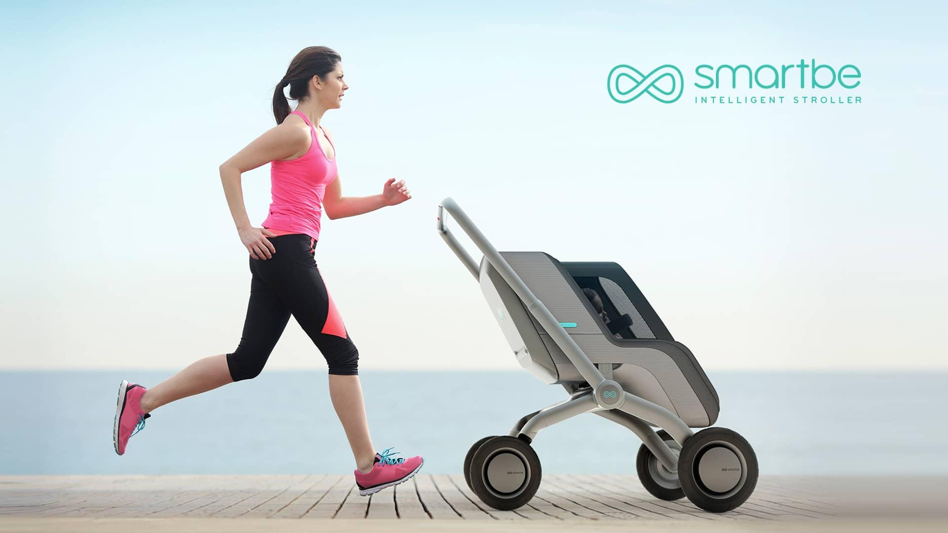 smartbe self propelled stroller