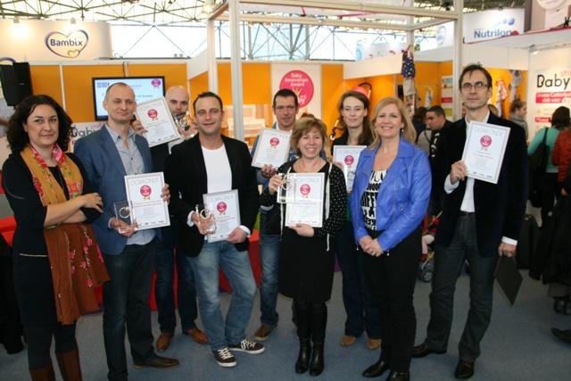 uitreiking baby innovation awards negenmaandenbeurs