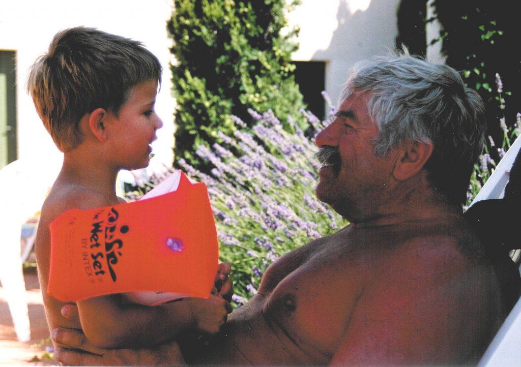 overbelaste opa en oma